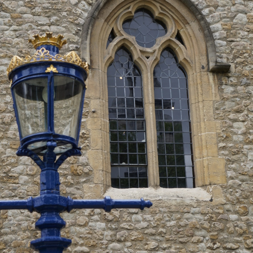 Lampposts and windows