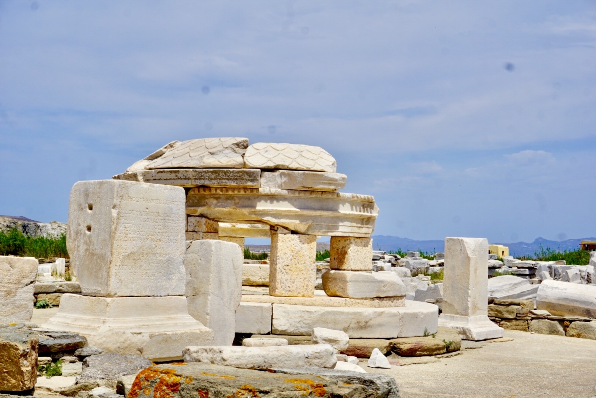 Meanderings- Delos Island, Greece