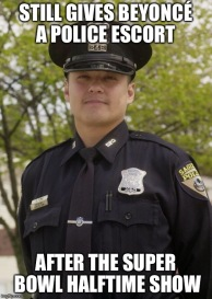 Still-Gives-Beyonce-A-Police-Escort-Funny-Cop-Meme-Picture